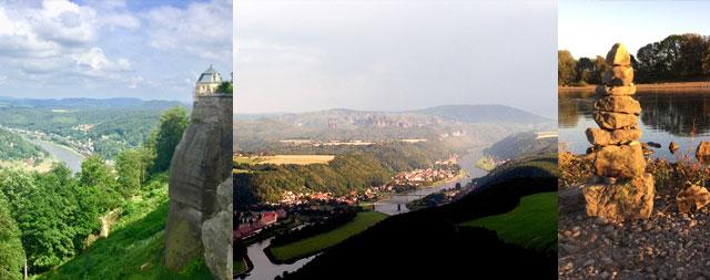 Radtour in die Sächsiche Schweiz